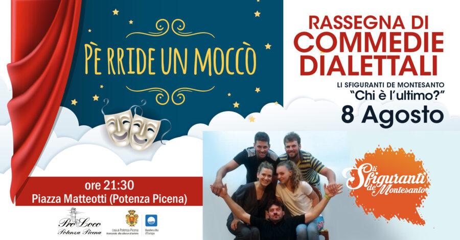 Pro Loco Potenza Picena - Evento Pe rride un mocco - Commedie dialettali